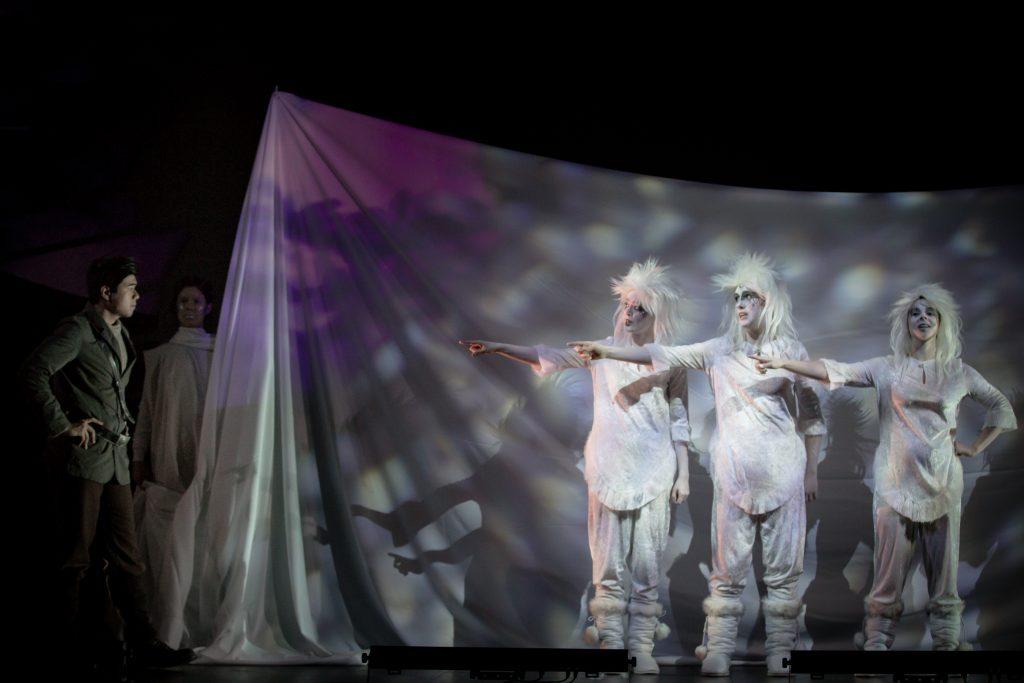 The Arctic Flute, Opera NUOVA